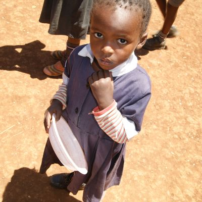Feed a hungry child in Kenya