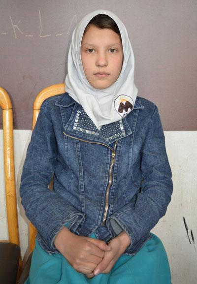Child in Jordan for Child Sponsorship Program