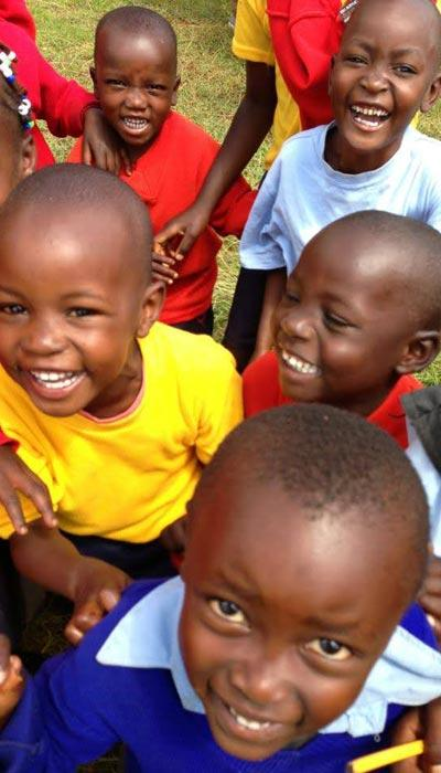 Smiling Children where we work